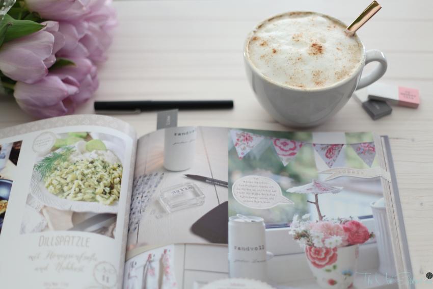 Deko Liebe innenansicht mit Kaffee
