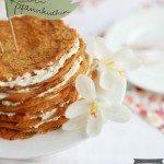 für süße Möhrenpfannkuchen