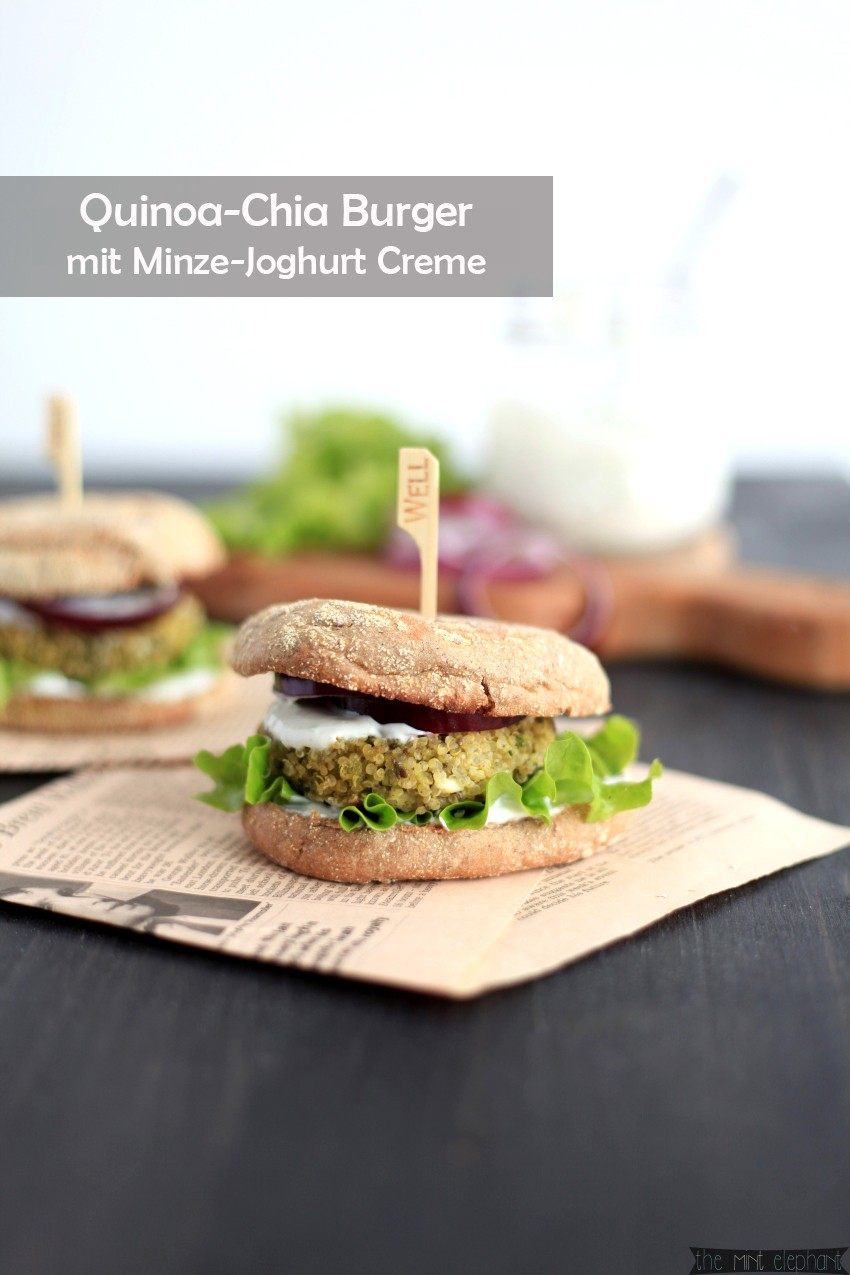 Quinoa-Chia-Burger-mit-Minz-Joghurt-Cremeps