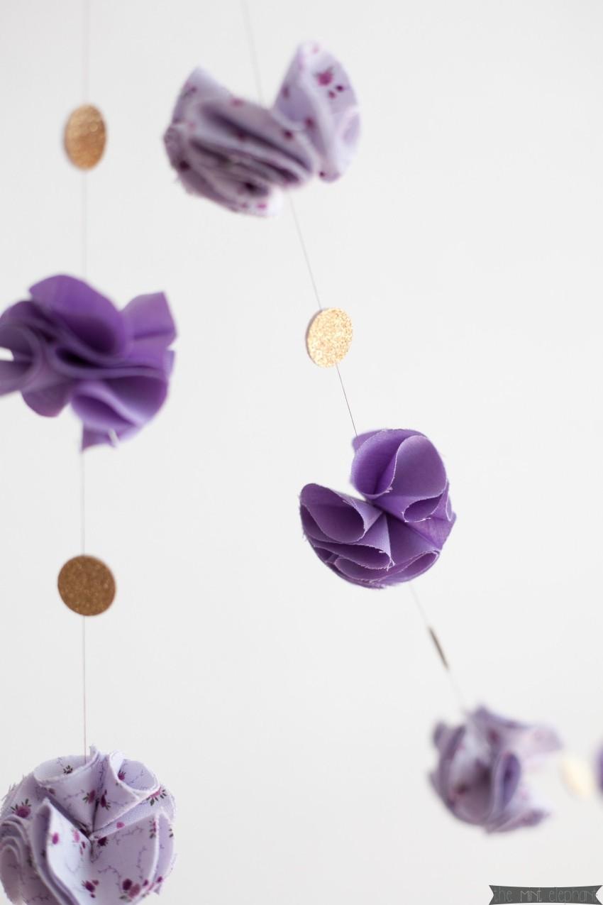 DIY Blüten-Girlande 6
