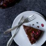 für rohen Schokoladenkuchen